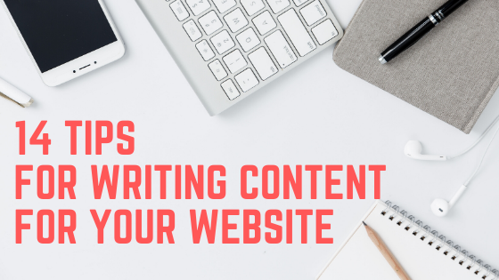 14 tips for writing content for your website