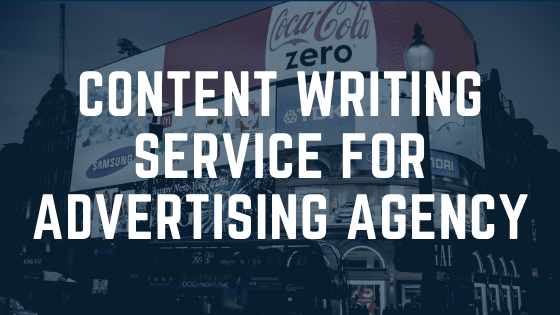 Content Writing Service for Advertising Agency 3