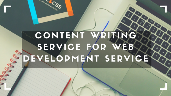 Content Writing Service for Web Development Service
