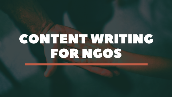 Socially Responsible Content writing for NGOs 3