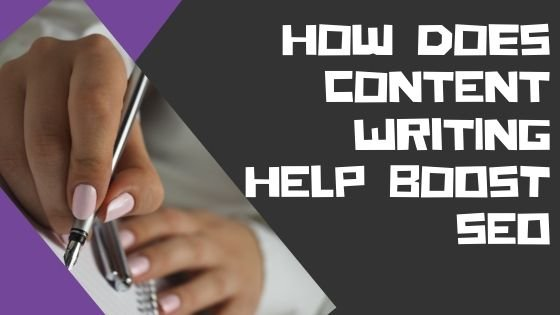 How Does Content Writing Help Boost SEO 1