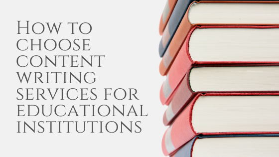Content Writing Services for Educational Institutions 2