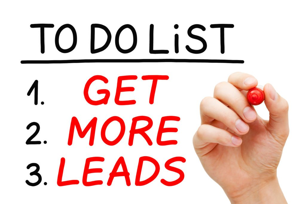 How can you generate leads by writing more content? 1